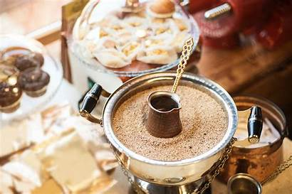 Coffee Turkish Sand Drink Koffiewinkel Tirana Local