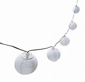 Solar Lichterkette Lampions : solar lichterkette bianca 10 lampions warmwei ~ Buech-reservation.com Haus und Dekorationen