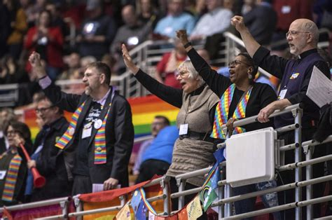 area leaders  united methodist church react  lgbt