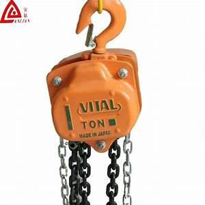 China Vital Chain Block Manual Chain Hoist