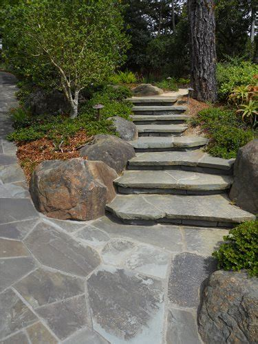 flagstone step flagstone step designs landscaping network