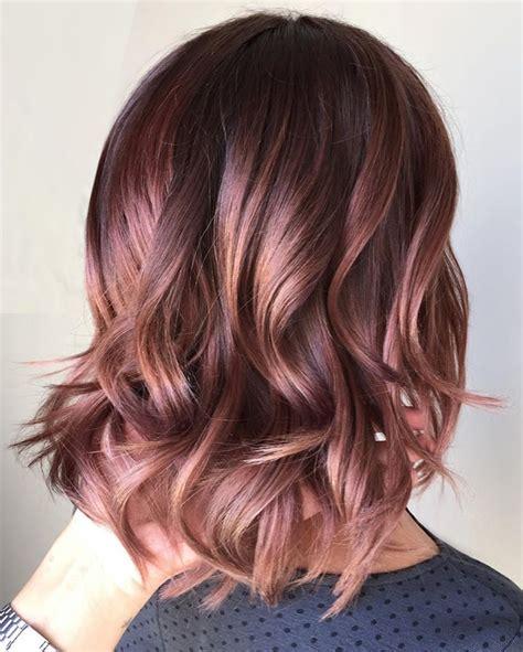winter hair colors caramel hair color ideas for fall winter 2017