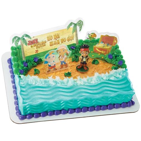 jake and the neverland decorations jake and the never land neverland cake decoration