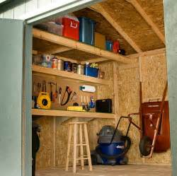 Heartland Stratford Storage Shed by 10 Ways To Turn Your Shed Into The Perfect Workshop