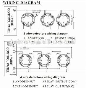 4 Wire Fire Alarm Wiring Diagram Strobe Panic