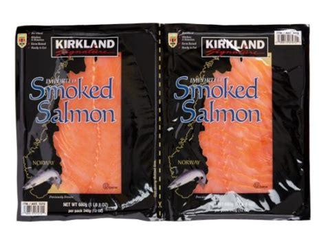 kirkland smoked salmon nutrition information eat