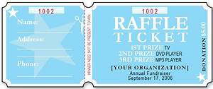 sample raffle ticket templates formal word templates With sample of raffle tickets templates