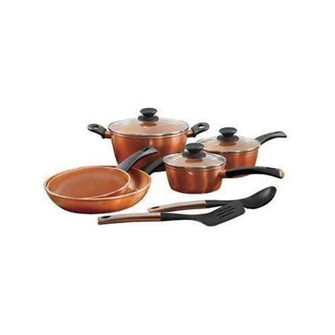 ef copper color pc set copper cookware set cookware set copper cooking pan