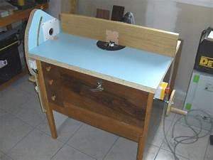 Table defonceuse horizontal forum outillage systeme d for Tour a bois fait maison 11 table defonceuse horizontal forum outillage systame d