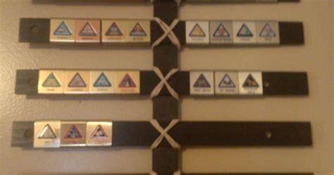 diy cub scout belt loop display    wooden