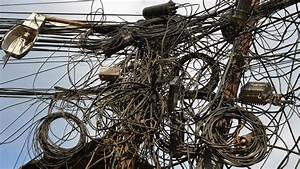 Unsafe Electrical And Telecom Wiring Examples In Nepal