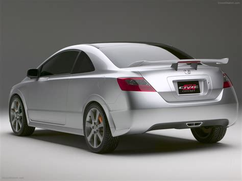 cars honda civic si honda civic si concept 2005 exotic car wallpaper 009 of