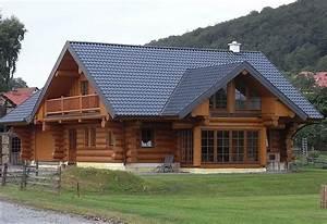 Die Schönsten Holzhäuser : rundstammhaus die urform vom blockhaus ~ Sanjose-hotels-ca.com Haus und Dekorationen