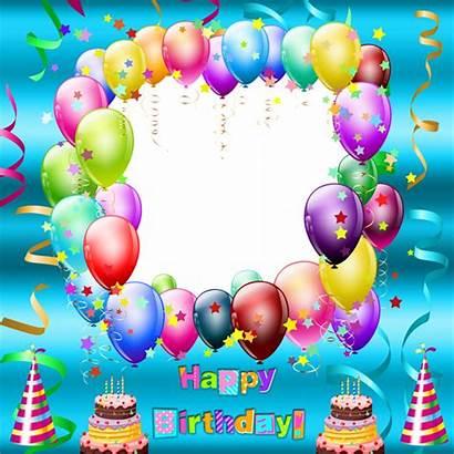 Birthday Transparent Happy Frames Frame Balloons Yopriceville