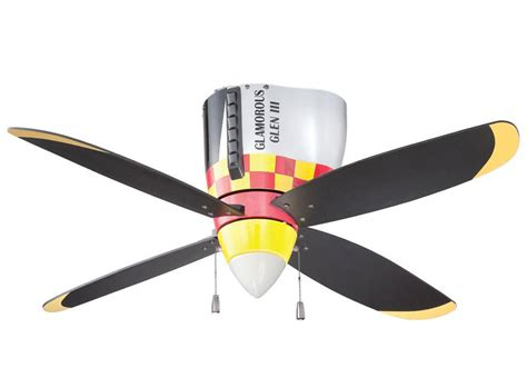 P-51 Mustang Warbird Airplane Ceiling Fan