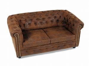 Chesterfield Sofa Wildlederoptik : chesterfield 2 sitzer sofa gobi braun ~ Indierocktalk.com Haus und Dekorationen
