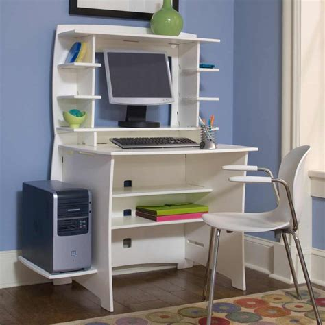 modern computer desk with hutch multi pack computer small modern desk with hutch white