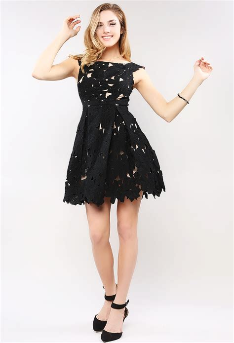 mergory flowery flare mini dress flower lace flare mini dress shop out dresses at