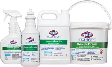 Clorox Healthcare® Hydrogen Peroxide Cleaner Disinfectants