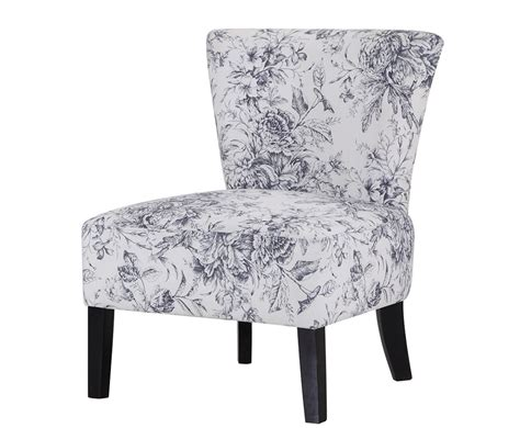 Crawley Floral Fabric Bedroom Chair