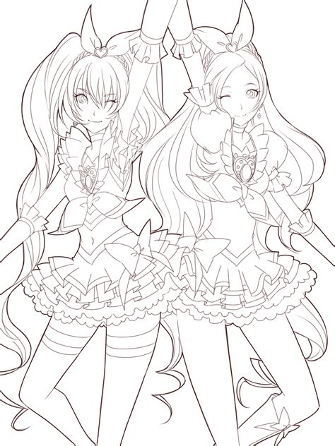 13 Best Of Anime Girl Coloring Pages Bestofcoloringcom