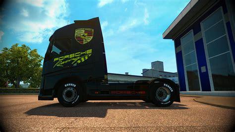 truck skin truck volvo skin porsche racing  euro