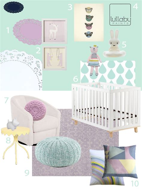 my modern nursery 68 lovely lilac and mint sponsored by