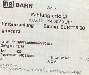 Bahn Rechnung : 2012 mai blogruz ~ Themetempest.com Abrechnung