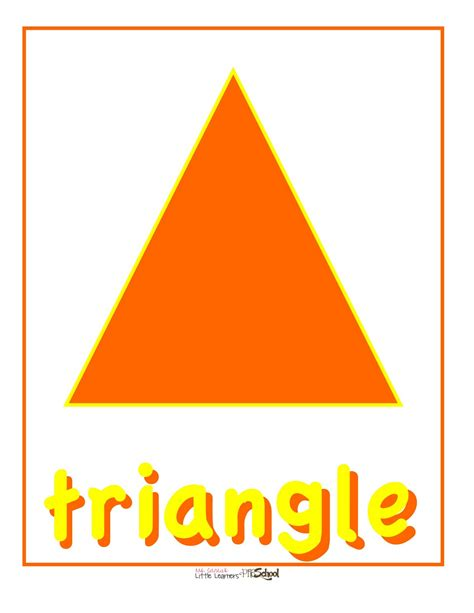 ms carlie s learners preschool october shape 103   Color%253AShape 14