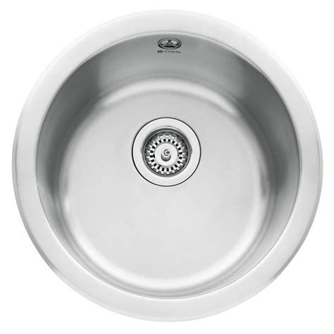 circular kitchen sinks caple form 45 inset bowl sink sinks taps 2213