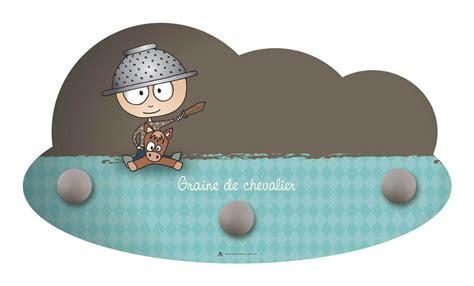 portemanteau mural graine de chevalier diabolokids jouet meuble et deco en bois pour enfant