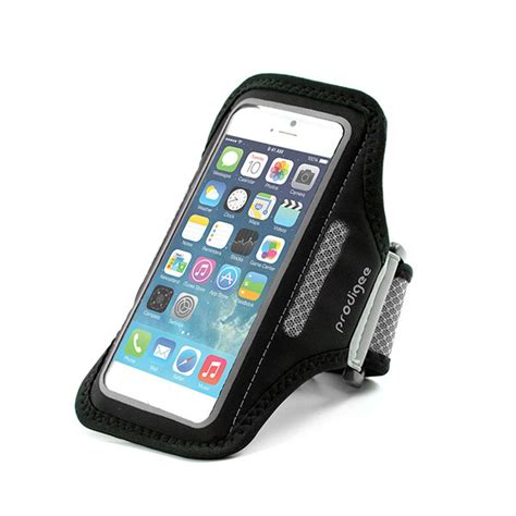 iphone bands prodigee sportigee arm band for iphone 6 iphone 6s black
