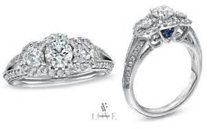 vera wang wedding rings vera wang collection three engagement rings wedding dress hairstyles bridal