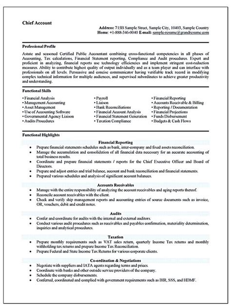 Accounting Graduate Resume by 1000 Id 233 Es Sur Le Th 232 Me Sle Resume Format Sur