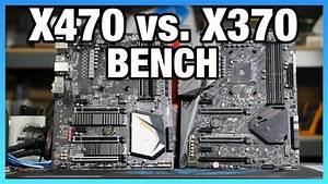 X470 Vs  X370 Chipset Differences  Benchmark   U0026 Specs