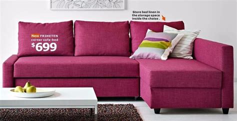 ikea friheten sofa bed pink limited edition in twyford