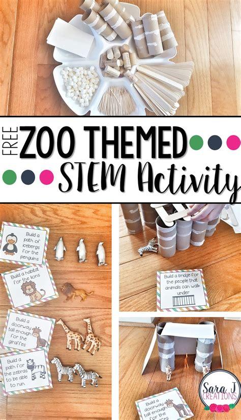 zoo themed stem activity j creations 229 | Slide1