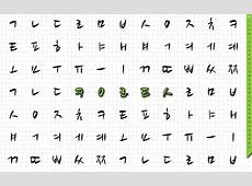 Hangul Script Wallpaper May 2013 Key to Korean