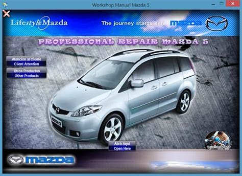 online service manuals 2005 mazda mx 5 parental controls manual de taller profesional mazda 5 2005 2007