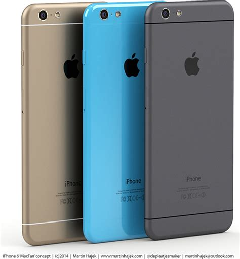 iphone 6s colors new renders show iphone 6s and iphone 6c concepts