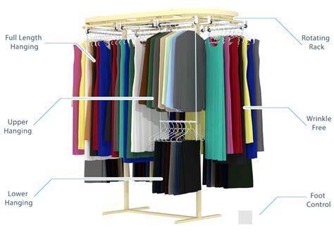 rotating closets closet carousel clothing rack wardrobe rail closet storage