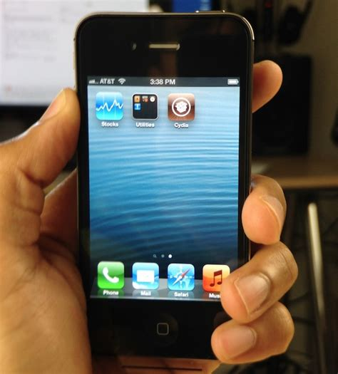 iphone 3 for cydia is installed on my iphone 4s running ios 6 1 3