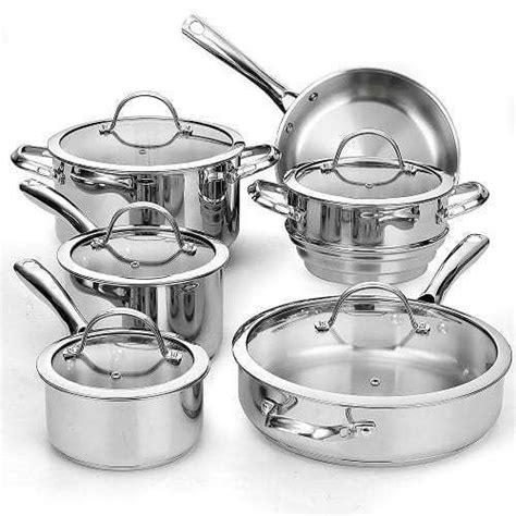 top   stainless steel cookware set  reviews toprec