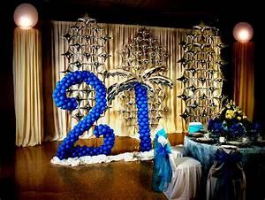 21st Birthday Decoration Ideas - Party Themes Inspiration