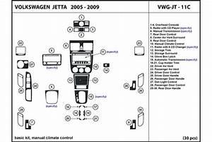 2006 Volkswagen Jetta Dash Kits