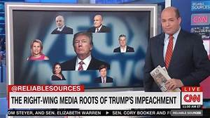 Brian Stelter: Fox News Led Trump to 'Brink of Impeachment'
