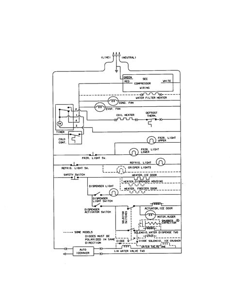 wiring diagram for kenmore refrigerator powerking co