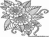 Lei Hawaiian Drawing Flower Coloring Paintingvalley Drawings sketch template