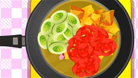 jeux de cuisine salade jeu cuisine une salade de fruits gratuit jeux 2 filles