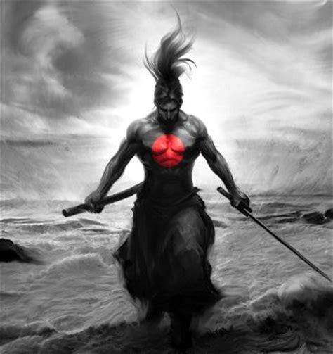 samurai art art abyss